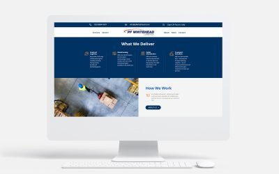 PF Whitehead Logistics' New Website Marks Exciting Future